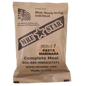 Ration de combat MRE Pasta Marinara