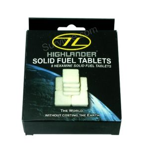 Tablettes d'essence solide Highlander (x8)