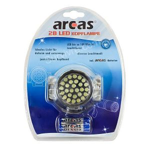 Lampe frontale 28 Leds Arcas