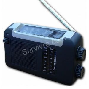 Radio solaire dynamo multifonction Panther